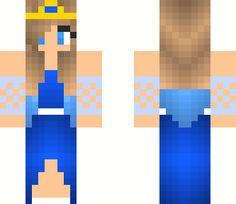 Water Princess | Minecraft Skin                                                                                                                                                      More