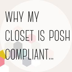 (Updated!) And yours should be too!!! Here's why you should make sure your items aren't prohibited:  1. Posh can suspend your closet if you have these items 😟! 2. A lot of people will not share from non-compliant closets 🙅 3. You will not be considered for party host picks 😓 4. You cannot join most share groups 😕  Continued in the comments...👇 Other