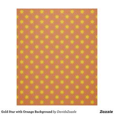Gold Star with Orange Background Fleece Blanket Available on many products! Hit the 'available on' tab near the product description to see them all! Thanks for looking!  @zazzle #art #star #pattern #shop #home #decor #bathroom #bedroom #bath #bed #duvet #cover #shower #curtain #pillow #case #apartment #decorate #accessory #accessories #fashion #style #women #men #shopping #buy #sale #gift #idea #fun #sweet #cool #neat #modern #chic #navy #blue #black #orange #grey #gray #yellow #gold #purple