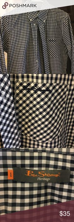 Button up shirt Perfect condition worn a couple times recently laundered Ben Sherman Shirts Dress Shirts
