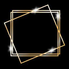 Golden abstract rectangle frame, Gold, Golden, Golden Frame PNG and Vector Gold Background, Background Banner, Background Pictures, Background Templates, Background Patterns, Arte Pink Floyd, Frame Floral, Photo Frame Design, Image Hd