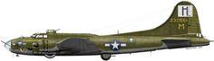 "Boeing B-17F Flying Fortress ""Veni Vidi Vici"" - Serial № 42-30661 USAAF 388 BG, 562 BS, Knettishall, Stn 136. 1944"