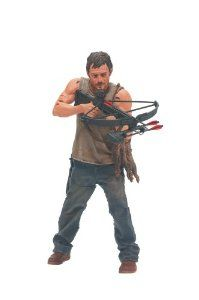 He's so life like! I want Daryl and his crossbow to live on my desk and protect me from zombie patrons.