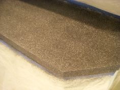 Paint old laminate counter tops to look like granite!