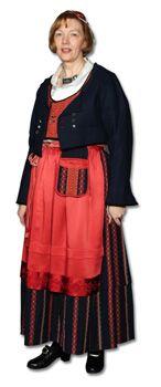 Karijoen ja Isojoen naisen kansallispuku Folk Costume, Costumes, Finland, Dressing, Traditional, Folklore, Magic, Inspiration, Beauty
