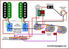 419 best build guitar bass and electronic images on pinterest in electric bass guitar wiring diagrams the guitar wiring blog diagrams and tips wiring inspired by jerry garcia's guitar guitar