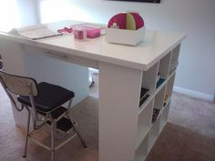 Craft Table | Do It Yourself Home Projects from Ana White