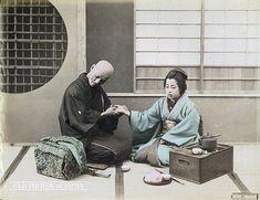 médecin japonais soigne femme