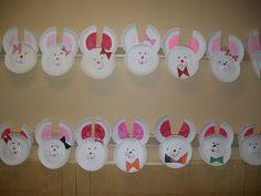 Easter Art using paper plates!