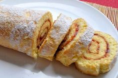 Yogurt Cake Roll ⋆ Recipes with photos Yogurt Cake, Food Photo, Good Food, Dessert Recipes, Baking Recipes, Rolls, Food And Drink, Sweets, Bread