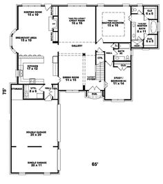 Hollyridge Traditional Home Plan 087D-1061 | House Plans and More