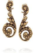 OSCAR DE LA RENTA  24-karat gold-plated clip earrings  €151