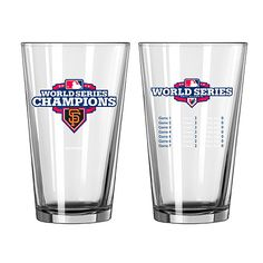 San Francisco Giants 2012 World Series Champions Summary Pints