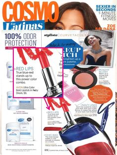 Want a lipstick shade that instantly brightens your look? @CosmoForLatinas recommends our Ultra Color Lipstick.