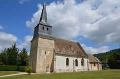 Eglise Saint-Martin te Brosville (Eure 27)