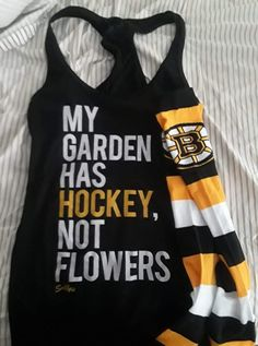 Boston Bruins, Hockey, Tank Tops, Life, Women, Fashion, Moda, Halter Tops, Field Hockey