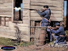 The Civil War in color: Heroic scenes brought to life as ...