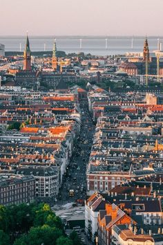 Copenhagen City, Copenhagen Denmark, Capital Of Denmark, Paris Skyline, New York Skyline, Kingdom Of Denmark, Great Memories, Around The Worlds, Places