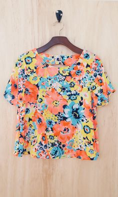 Love Spell Floral Top