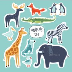 Download Free Graphicriver              Cartoon Animals            #adventure #all #amusement #art #away #background #boat #boy #captain #cartoon #child #courage #design #drawing #escape #explorer #freedom #games #graphic #kid #leisure #looking #nautical #passion #people #playing #recreational #regatta #rules #sail