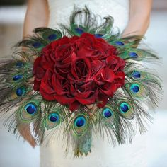 Peacock Wedding Style