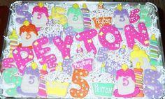 Peyton's 5th Birthday Cookies | Flickr - Photo Sharing!