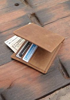 New Paul /& Taylor Women/'s Leather Long Credit Card Organizational Wallet