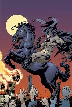Aaron Lopresti Batman Dark Knight The Master Race Variant Cover Comic Book Artists, Comic Books Art, Comic Art, I Am Batman, Batman Art, Batman Stuff, Frank Miller, Batman The Dark Knight, Nightwing