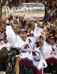 Ray Bourque 2001 - Hated to have to trade him so he could get his cup but I was just glad he got one. Bruins were nowhere close and he deserved the opportunity.