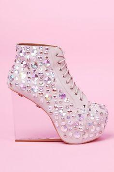 Jeffrey Campbell Dina Jewel | Jeffrey Campbell Shoes | ShopAKIRA.com @Jeffrey Campbell #shoeaddict #bejeweled #embellished