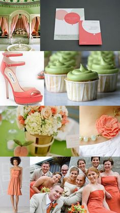 coral and mint = gorgeous wedding colors Post Wedding, Dream Wedding, Wedding Day, Wedding Wishes, Wedding Bells, Rustic Wedding, Wedding Stuff, Wedding Color Schemes, Wedding Colors