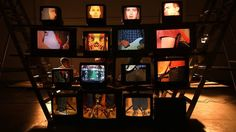 """A music video for """"Animals"""", the 2nd single to be lifted from the forthcoming debut album """"Family"""" by Cast of Cheers.   The concept of the video was based around 16 VCR players and 16 Televisions. Each band member was divided into four and each section was filmed playing back the song. So each member had four videos of themselves playing back the single with the camera fixed on a different part of their body. This footage was then put onto DVD and then transferred onto VHS.   The…"""