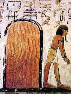 Los símbolos egipcios y su significado.Fuego era lo que desprendía la diosa…
