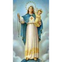 Purchase Rosary Novena Prayer Holy Card online from Leaflet Missal, a family business that provides Catholic goods from St. Rosary Novena, Novena Prayers, Holy Rosary, Rosary Catholic, Embroidery 3d, Mosaic Pictures, Prayer Cards, Diamond Cross, Virgin Mary