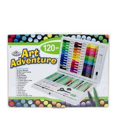 Loving this 120-Piece Art Adventure Kit on #zulily! #zulilyfinds