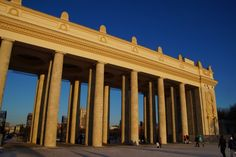 Number 6 on your list of things to do in Moscow: The Gorky Park