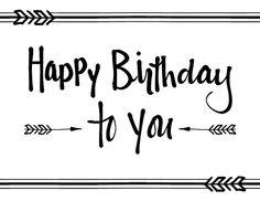 Send a purposeful birthday wish to a #friend with this modern #HappyBirthday #ecard. www.123greetings.com