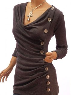 if this is a dress.. super cute! pair with boots and a leather jacket to balance out so much feminine with a little edge..