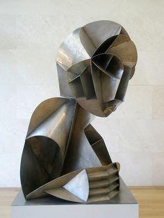 Naum Gabo 'Constructed Head #2', 1916, Nasher Sculpture Center, Dallas