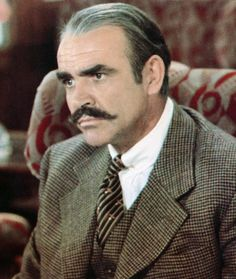 Mustache Gallery Sean Connery Murder on the orient express
