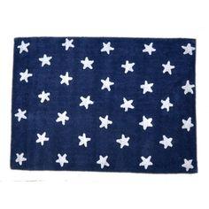 Washable Rug Stars Marino / Alfombra lavable estrellas Marino Lorena Canals