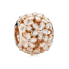 Birthday - PANDORA Rose™ Darling Daisy Meadow w/White Enamel Charm reminds me of Marc Jacobs designs