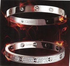 Cartier diamond love bangle