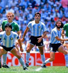 Argentina 3 W Germany 2 in 1986 in Mexico City. Action from a entertaining World Cup Final. Mexico 86, Mexico City, Fifa, World Cup Teams, Football Images, Kids Soccer, World Cup Final, Yesterday And Today, Football Players