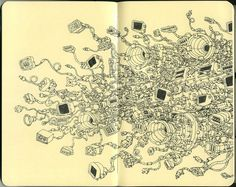sketchbook by Mattias Adolfsson