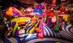 sebastian masuda brings chromatic craziness to kawaii monster cafe in tokyo Kawaii, Candy Store Display, Arcade, Kids Cafe, Romance, Trends, Monster Girl, Candyland, Neon Colors