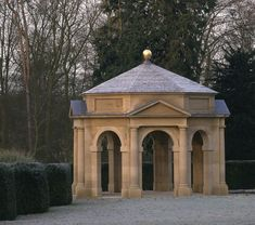 Garden Buildings Tempietto, North Yorkshire The centrepiece of a new Italian garden, this tempietto is built of Dunhouse sandstone ashlar with a Westmorland slate roof. North Yorkshire, Yorkshire England, Amazing Architecture, Interior Architecture, Building Architecture, Old Southern Homes, Garden Design, House Design, Gothic Furniture