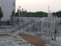 ight steel frame building consists of structural wall frames and roof trusses, manufactured from cold-formed light gauge galvanized steel sections. Steel Trusses, Roof Trusses, Roof Truss Design, Steel Buildings, Steel Structure, Galvanized Steel, Prefab, Steel Frame, Frames