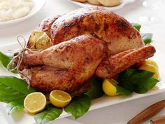 Perfect Roast Turkey Recipe from Ina Garten. Super simple recipe, great for first-time turkey roasters!