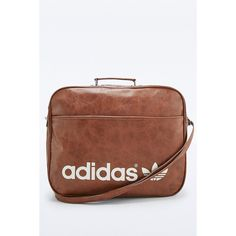 dcec77dcc64d Shop adidas Originals Brown Vintage Airline Bag at Urban Outfitters today.